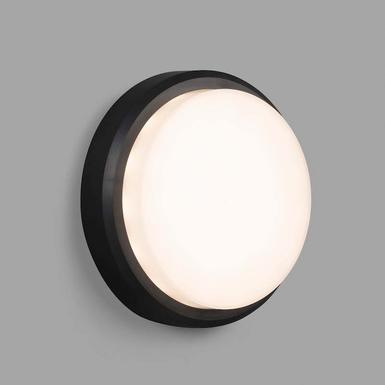 Applique / plafonnier led Faro Tom Noir Polycarbonate