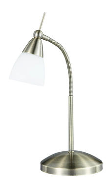 Lampe 1 L sensitive  .patiné antique Neuhaus pino Patiné Acier