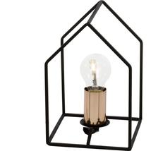 Lampe design Brilliant Home Noir Acier