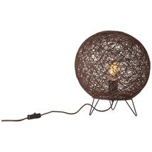 Lampe design Brilliant Papyrus Marron Métal