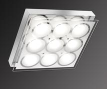 plafonnier  design 9L led Neuhaus Afida 2.0 Chrome Acier