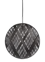 Suspension design Chanpen Diamond Noir Forestier Chanpen Noir Tissu