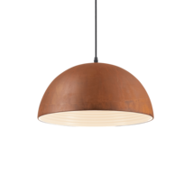 Suspension design Ideal lux Folk Rouille Métal