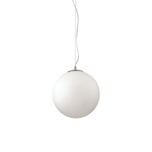 Suspension design Ideal lux Mapa Blanc Verre