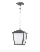 Suspension extérieure design Faro mini-wilma Gris anthracite Aluminium