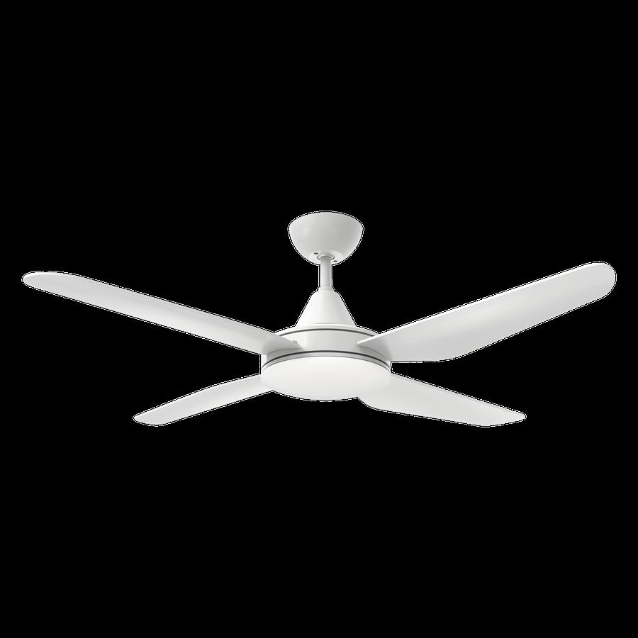 Ventilateur de plafond avec lumière LED ACB Tramontana Blanc ABS